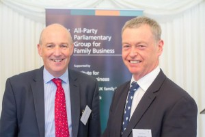 John Stevenson MP with Hamish MacLeod, representing BSW Timber, a family business with a base in Carlisle