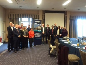 John attending the FloodRe meeting in Penrith