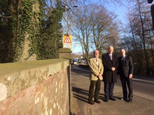 Secretary of State for Transport, Chris Grayling visiting the A69 – 9th March