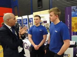 John at Carlisle Skills Fair 2017